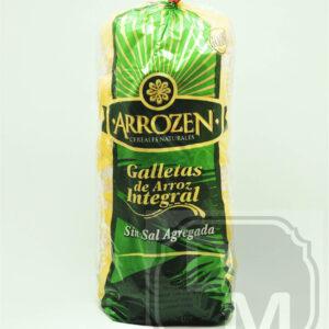 Galletas de Arroz Integral Sin Sal - Arrozen
