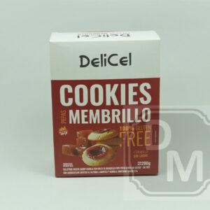 Cookies Delicel Pepas Membrillo