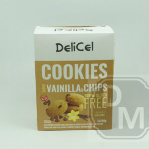 Cookies Delicel Vainilla y Chips