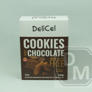 Cookies Delicel Sabor Chocolate