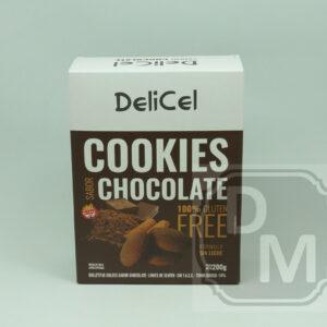 Cookies Delicel Sabor Chocolate