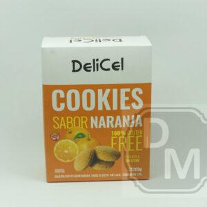 Cookies Delicel Sabor Naranja