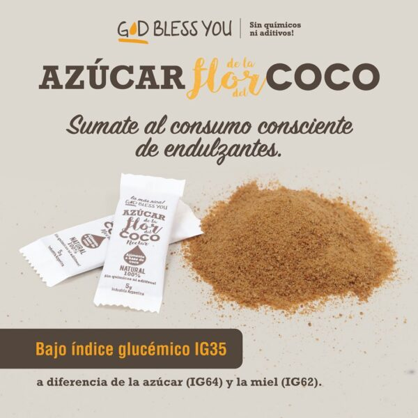Azucar de Coco God Bless You
