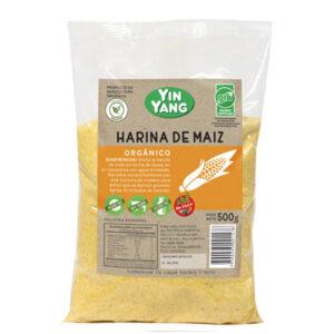 Harina Maiz Organica Yin Yang