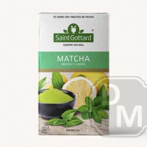 Té Matcha, Menta y Limón Saint Gottard