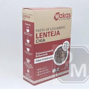 Fideos Proteicos de Lenteja y Chia - Wakas
