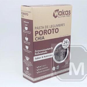 Fideos Proteicos de Porotos y Chia - Wakas