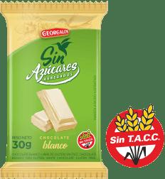 Chocolate Blanco Sin Azúcar Georgalos