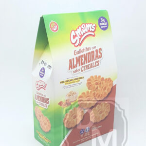 Cereales con Almendra - Galletitas Smams