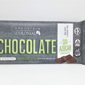 Barra de Chocolate Chocolate Colonial