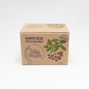 Shampoo Sólido Cabello Equilibrado Sentida Botánica